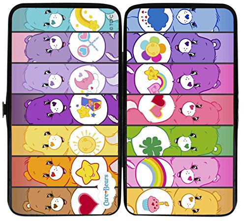 Care Bears Cartoon Characters Care-A-Lot Bears Fun Hinged Wallet (80s Characters)
