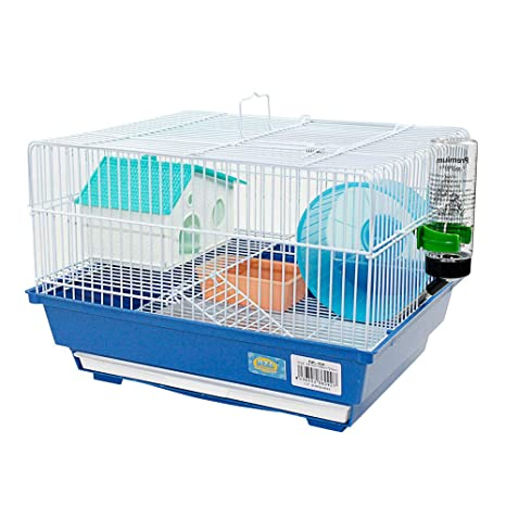 DI ZE LIN PET HOME S.L DZL® Jaula para Hamster 34.5 * 28 * 25cm ...