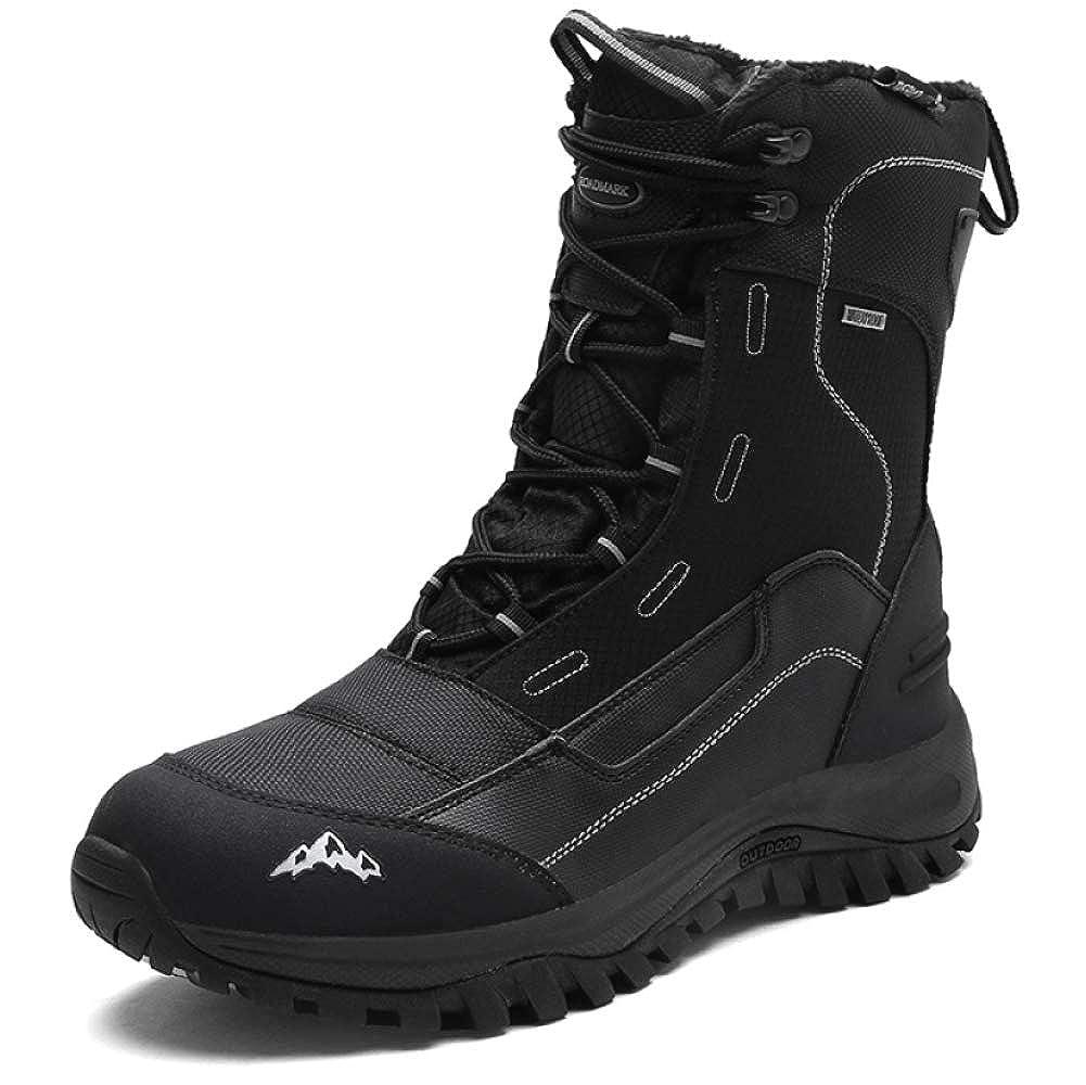 Herren Martin Stiefelies Rutschfest Wasserdicht Stiefel Freizeit Leder Outdoor Hike Schuhe