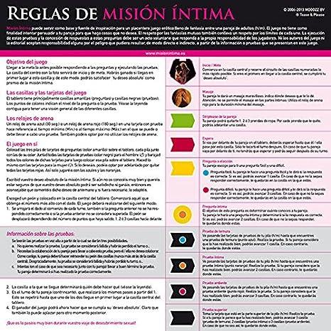 MISION INTIMA EDICION ORIGINAL (ES): Amazon.es: Industria, empresas y ciencia