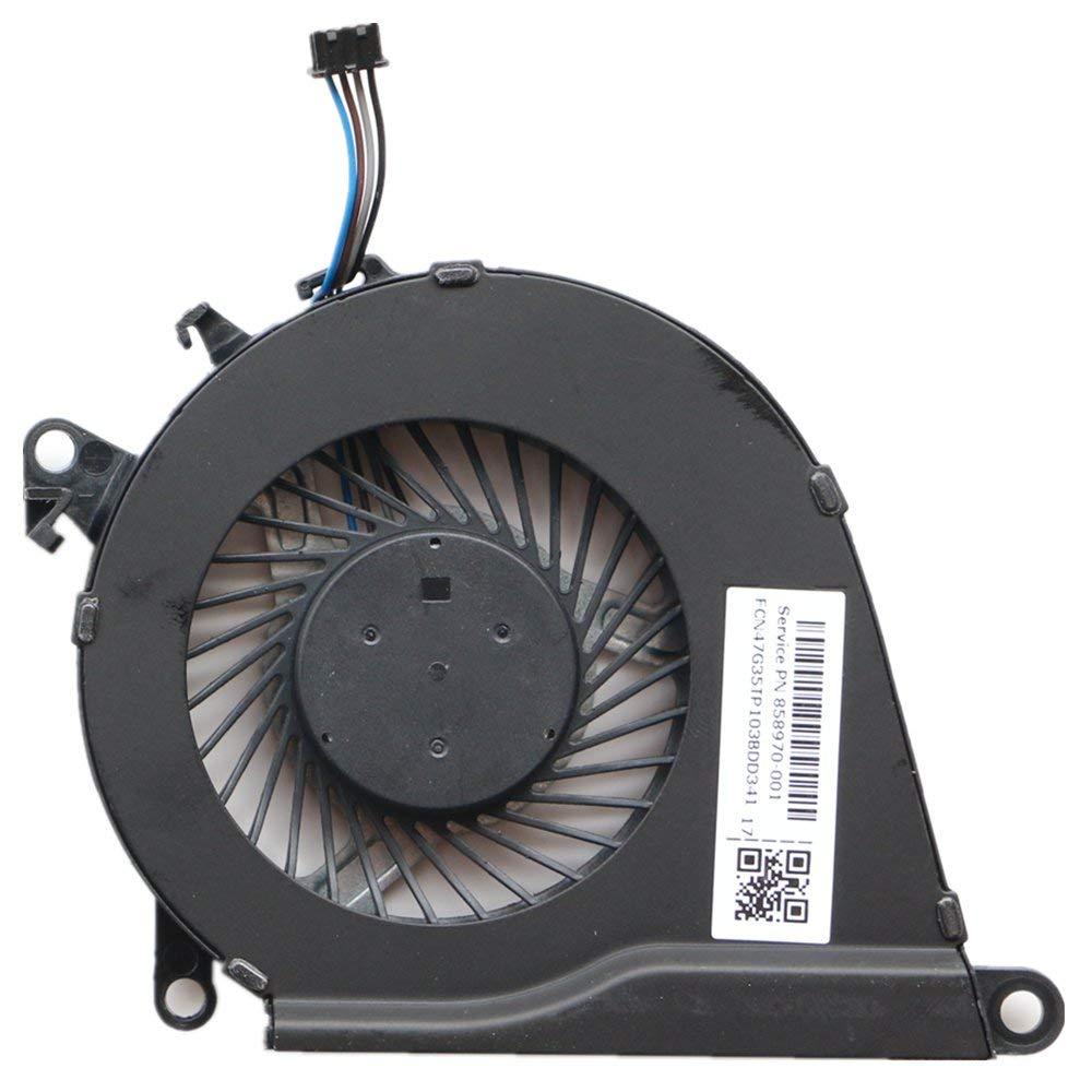 858970-001 Laptop CPU Cooler Fan for HP OMEN 15-AX 15-AX023TX 15-AX030TX 15-AX033DX 15-AX020TX 15-AX219TX 15-AX016TX 15-AX215TX TPN-Q173 CPU Cooling Fan