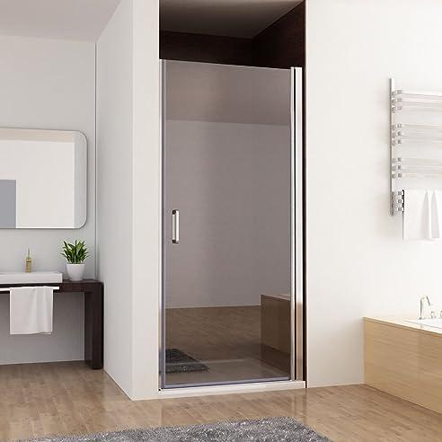 80 100 x 197 cm nischentr duschabtrennung schwingtr duschwand dusche nano glas z 80cm - Dusche Nischentur 85 Cm