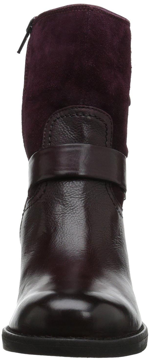 Amazon.com   CLARKS Women's Mojita Sorbet, Burgundy Leather, 6 M US   Ankle  & Bootie