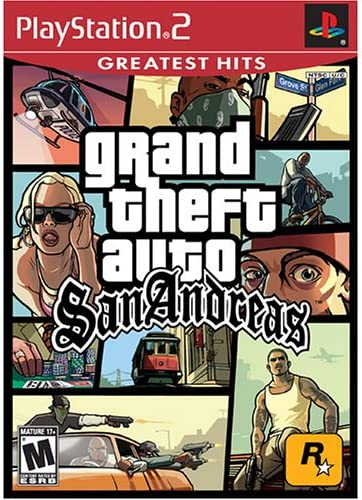 Grand Theft Auto San Andreas Greatest Hits Playstation