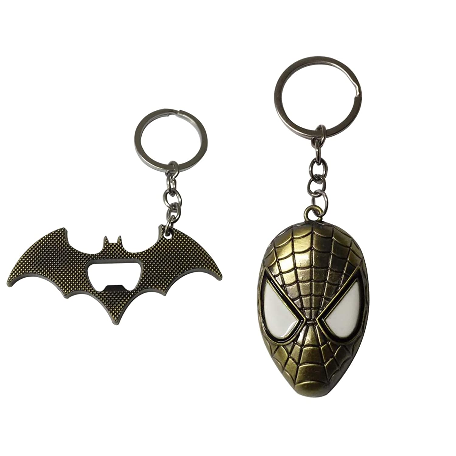 Spiderman Batman llavero abridor - 2 piezas: Amazon.es ...