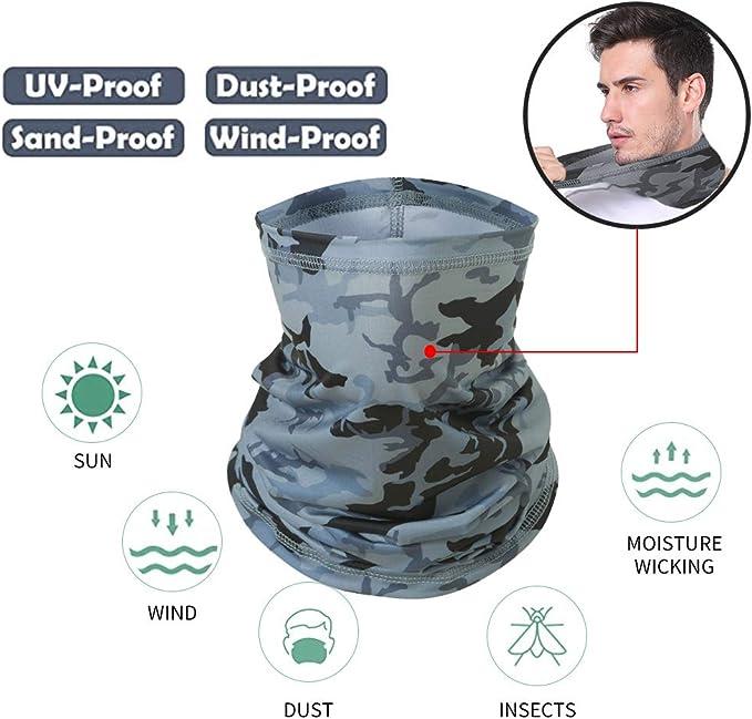 MOMOCA 1 STK Mundschutz Multifunktionstuch Sind Sch/öN Bunt Atmungsaktiv Baumwolle,Waschbar Mund-Nasenschutz Wiederverwendbar 3D Druck Tiermotiv Halstuch Schals Herren Damen