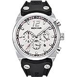Mens Watches BENYAR Fashion Business Quartz Waterproof Watch-Rubber Band Watch Date Display