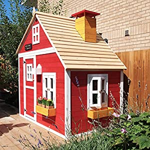 Garden-Games-Limited-Crooked-Mansion-Playhouse-Pre-Painted-Wooden-Play-House