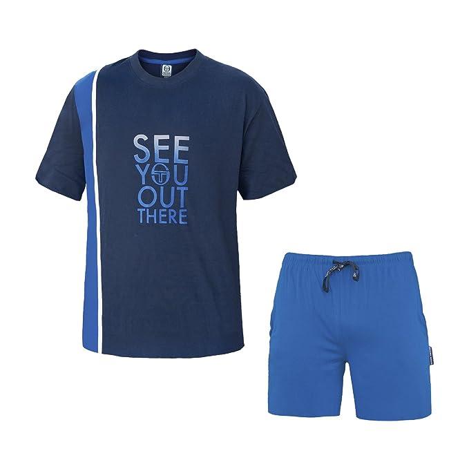 Sergio Tacchini - Pijama - para Hombre BLU Scuro Art.24417 M/46