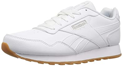 4735aaca2 Reebok Mens Classic Harman Run Sneaker, us-white/gum, 3.5 M US