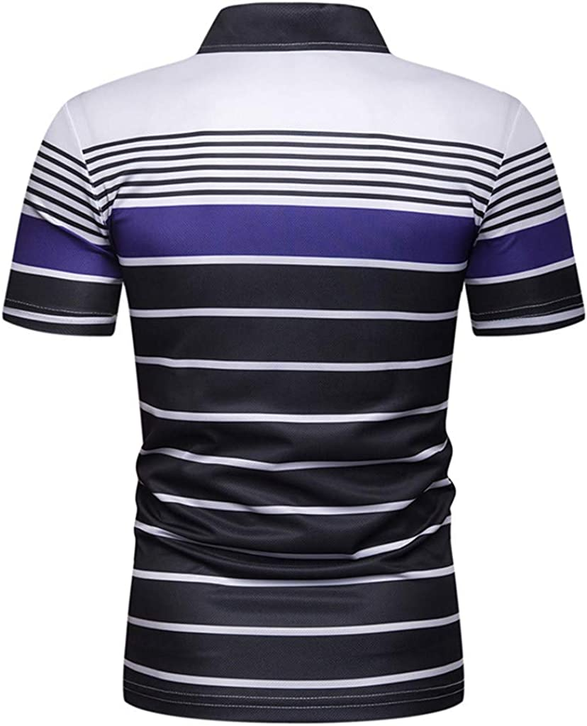 Big Sales Anewoneson/Men/'s Casual Slim Fit Pure Color Short Sleeve Polo Fashion T-Shirts
