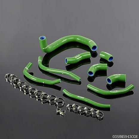 Amazon.com: Silicone Coolant Radiator Hose Pipe Kit For ...