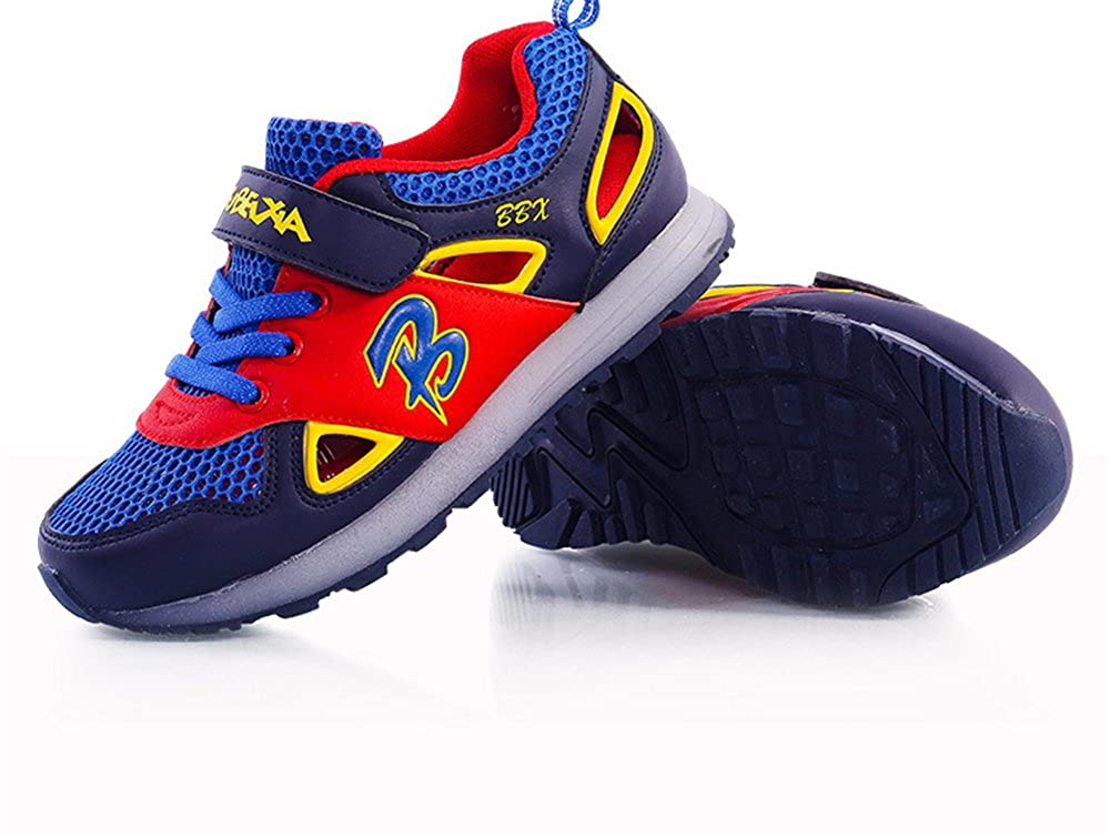 24XOmx55S99 Dance Boys Girls Kids LED Shoes Light Up Flashing Luminous Sport Sneakers