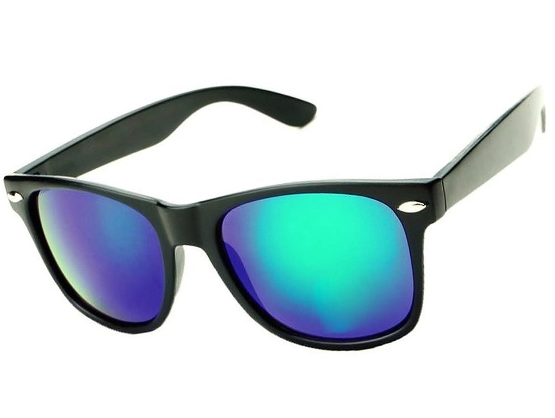 Gafas de sol estilo piloto, gafas de espejo a la moda, unisex, diversos colores de Morefaz Ltd Mirror Blue Green Polarized Talla única: Amazon.es: Ropa y accesorios