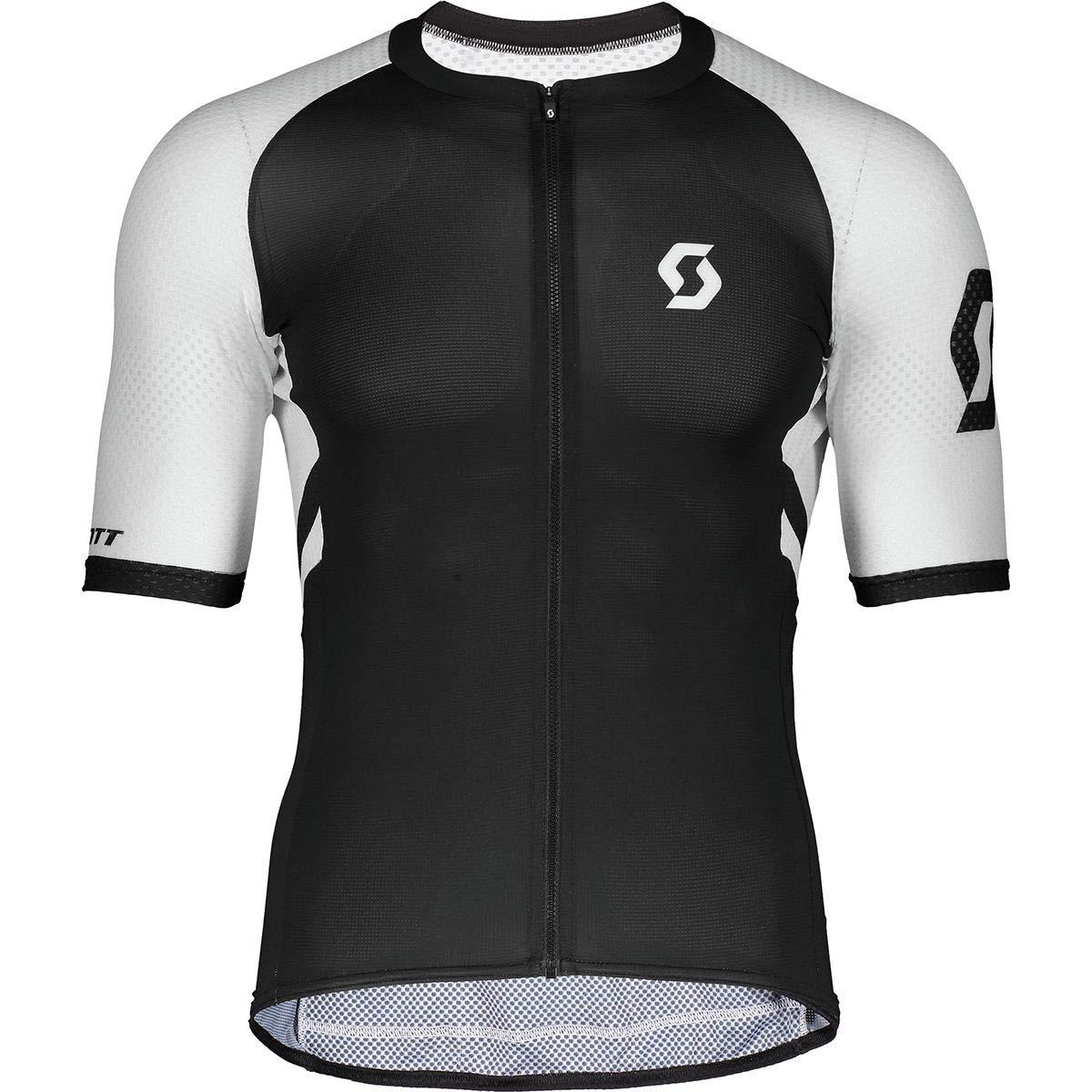 Scott RC プレミアムクライマー半袖シャツ メンズ Medium ブラック/ホワイト B07QS8375Z