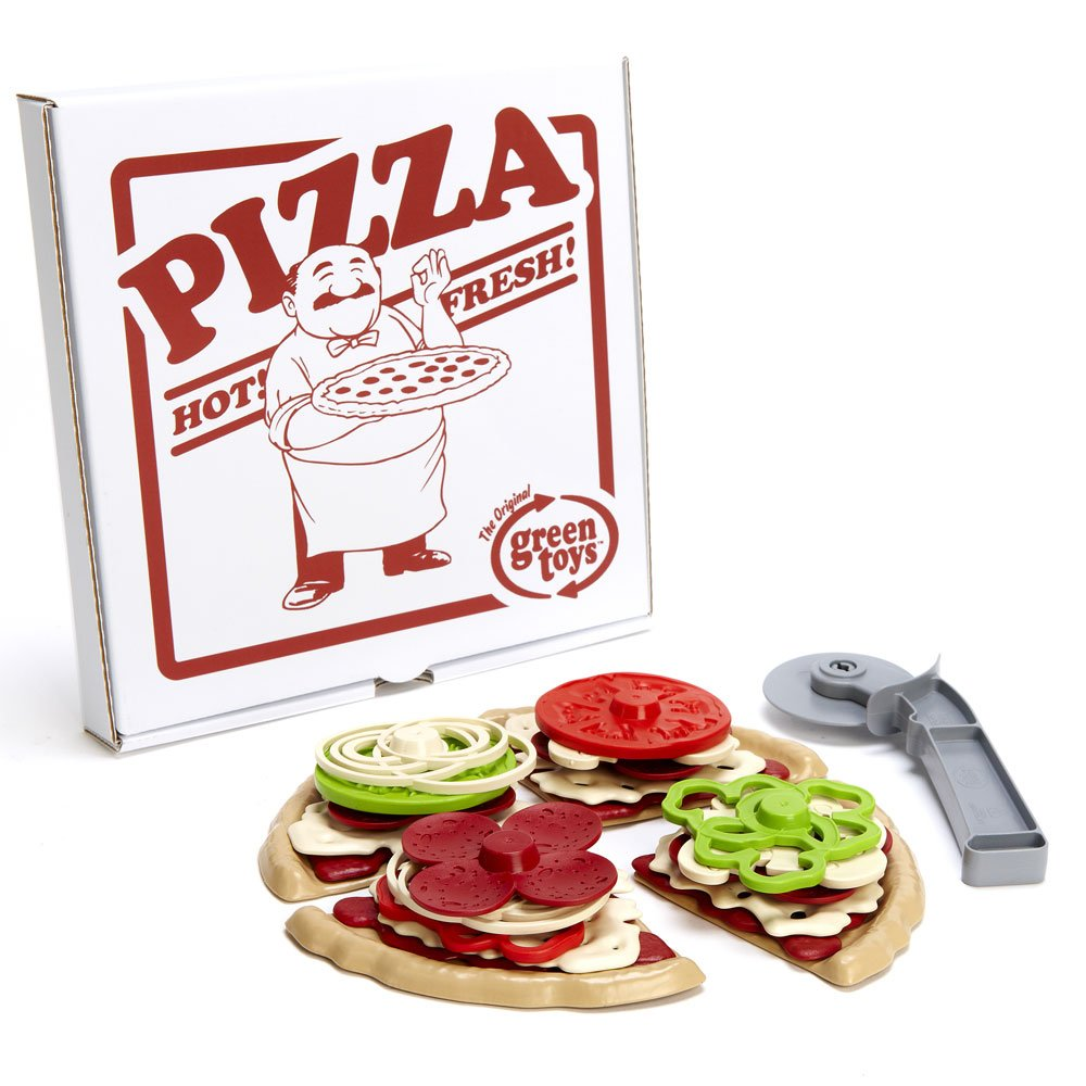 Amazon.com: Green Toys Pizza Parlor: Toys & Games