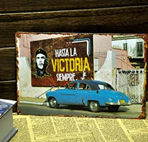 Glucky Art : Victory Simeper Vintage Metal signs wall decor House Bar Metal Painting art B-134 Mix order 20*30 CM