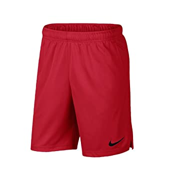 ccff9934785 Nike Men's Dri-Fit Woven Basketball Shorts Red/Black 897155-687 (X ...