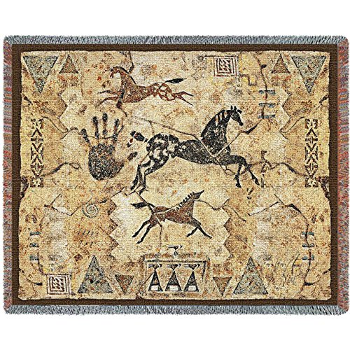 Horses Tapestry Throw Blanket - 5