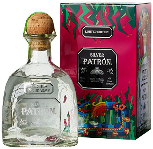 Patrón Silver Tequila in Metallbox limitierte Edition (1 x 0.7 l)