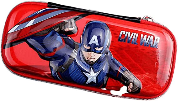 Estuche Disney Estuche for lápices Iron Man Capitán América Material Escolar for Estudiantes Spiderman Estuche for lápices Regalo for niños Bolsa Pluma (Color : Color, tamaño : I): Amazon.es: Electrónica