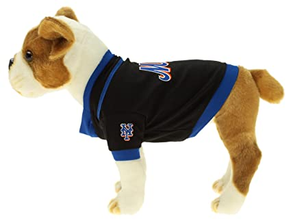 brand new 273d0 f5098 Sporty K9 MLB Baseball Dog Jersey, New York Mets X-Small