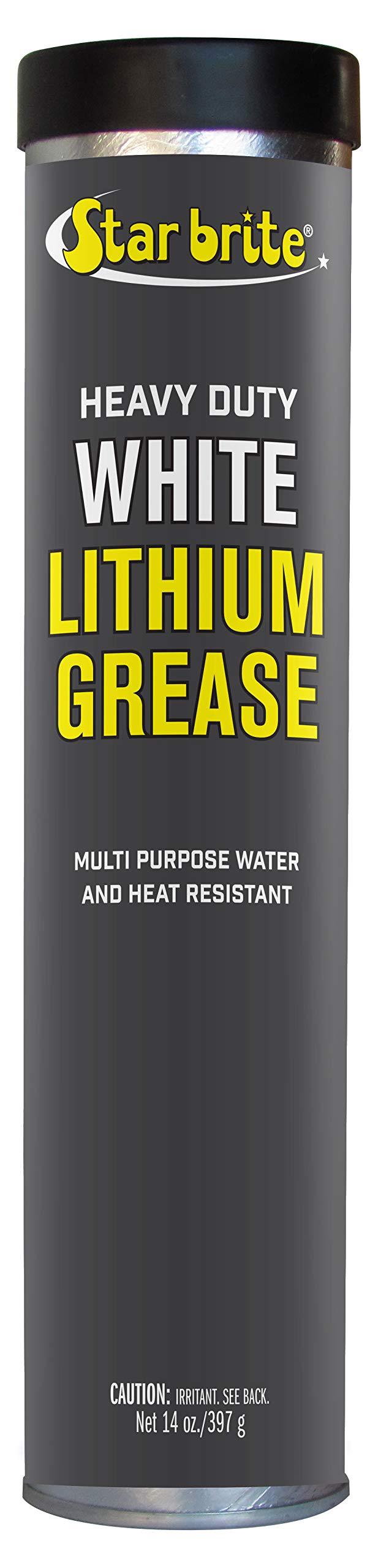 Star Brite White Lithium Grease Cartridge (14-Ounce)