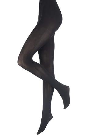 ea3b4d23326 Pretty Polly Women s Curves Plush Opaque 60 DEN Tights