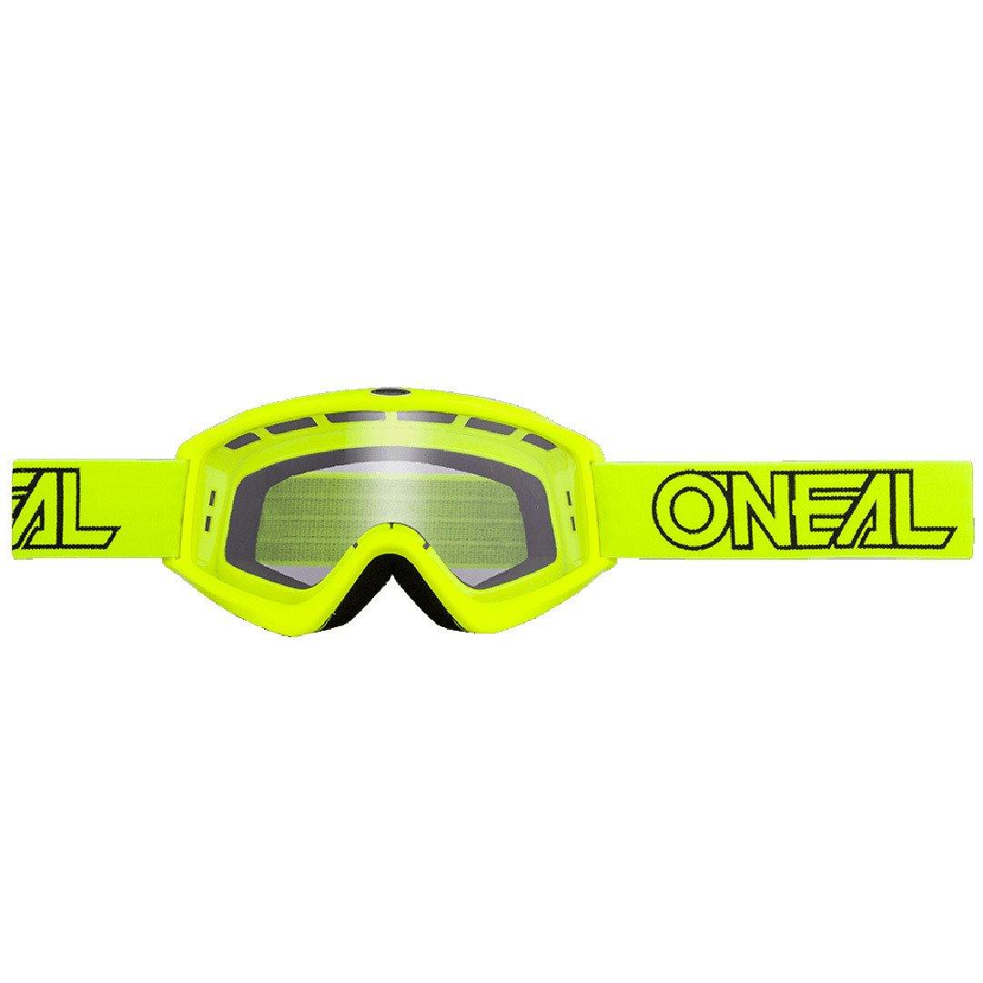 O'Neal B-Zero Goggle Moto Cross MX Brille Downhill DH Enduro Motorrad, 6030-11, Farbe Neon Gelb O' Neal 6030-112O