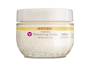 Burt's Bees Renewal Firming Moisturizing Cream with Bakuchiol Natural Retinol Alternative – 1.8 ounces (Packaging May Vary)