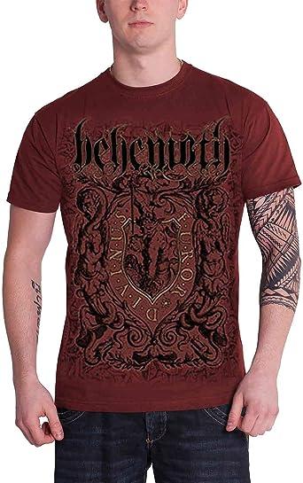 Official T Shirt BEHEMOTH Logo Metal FUROR DIVINUS Black All Sizes