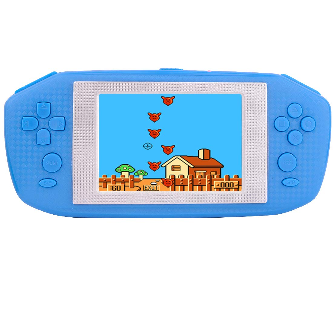 Beico Handheld Games for Kids Adults 3.5'' Large Screen Built in 416 Classic Retro Video Games Seniors Electronic Games Consoles Birthday Present (Blue)