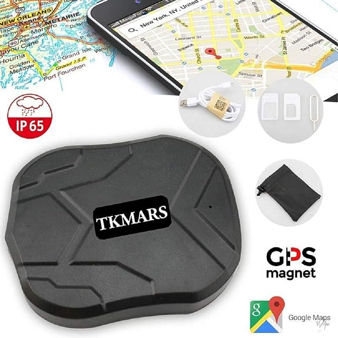20 opinioni per TKMARS auto GPS Tracker per veicoli 5000 mAh 90 giorni lungo standby GSM