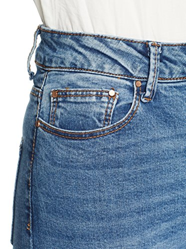Blue Denim Donna Pantaloni mid Mau Ink Waist Skinny 0025 Lost High Bxw4q0SBz