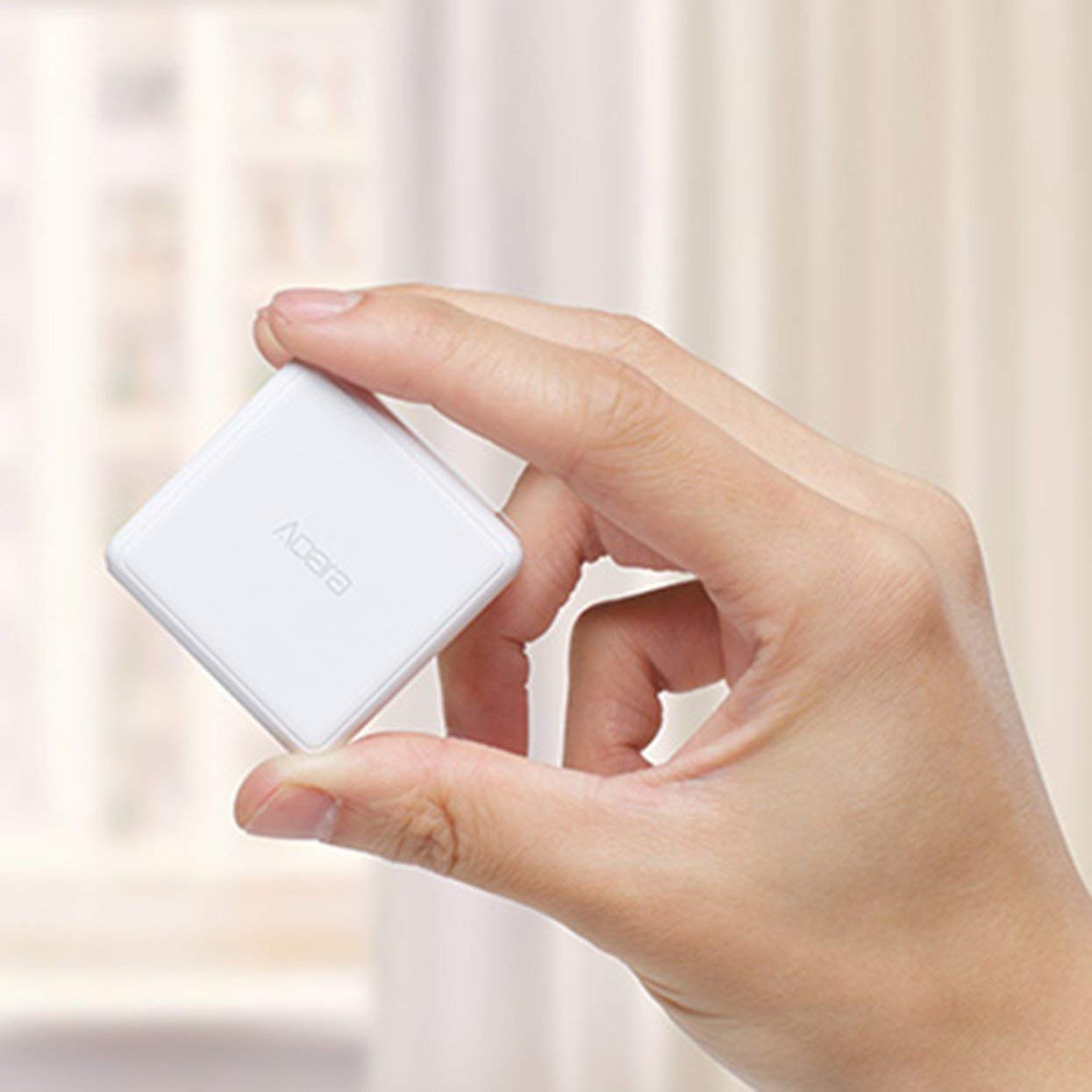 Tree-on-Life Contr/ôleur Magic Cube Version Zigbee Six Actions Contr/ôle pour Dispositif Smart Home Travailler avec Mijia Home App pour Xiaomi Mi Aqara
