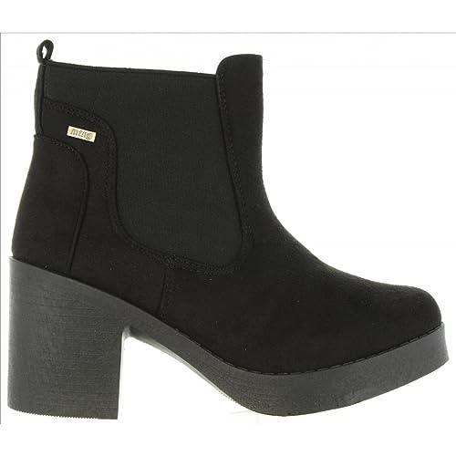 MTNG Botines de Mujer 58528 C35442 Negro: Amazon.es: Zapatos y complementos