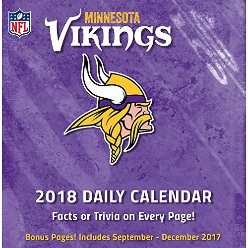 Minnesota Vikings Desk Calendar