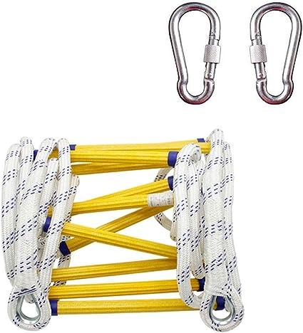 QXY Escaleras Accionadas por Cuerda - Escalera De Seguridad ...