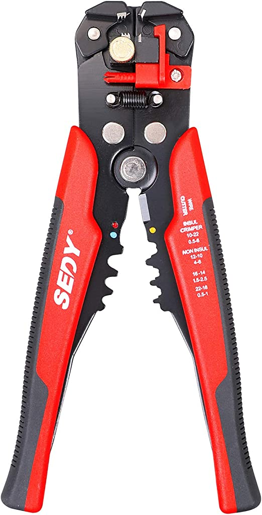 35385 Draper Adjustable Automatic Wire//Cable Cutter//Stripper,Crimping Pliers