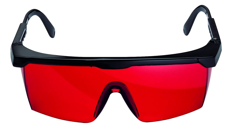 Bosch Professional Redglasses - Gafas para láser, color rojo