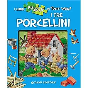 I Tre Porcellini Con 4 Puzzle Copertina Rigida 19 Ott 2016