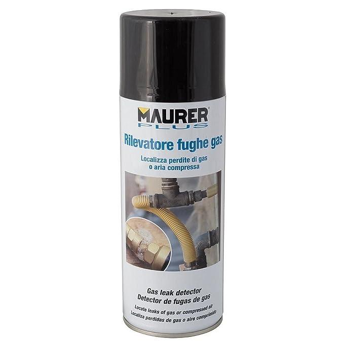 MAURER 12060366 Spray Detector Fugas De Gas 300ml azul: Amazon.es: Bricolaje y herramientas