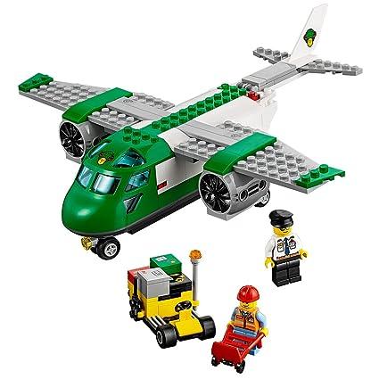 Amazoncom Lego City Airport 60101 Airport Cargo Plane Building Kit