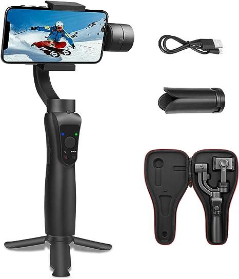 S5 3- Ejes Gimbal Estabilizador de teléfono Panorama y fotografía ...
