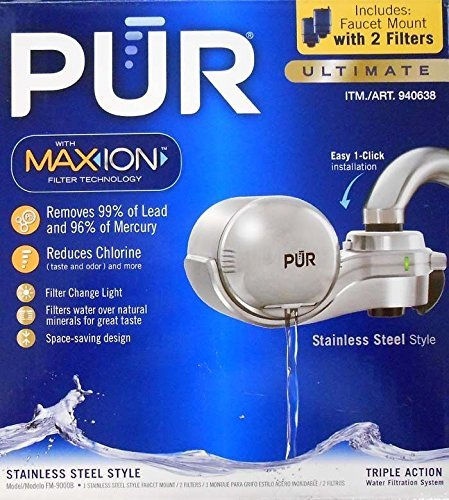 pur-fm-9000b-new-advancedplus-faucet-water-filter-stainless-steel-style-with-2-filters