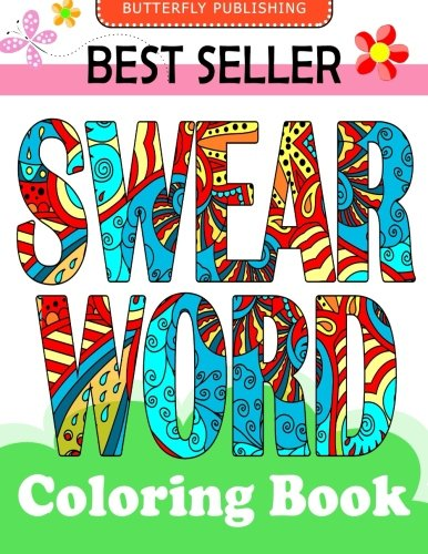 Swear Word Coloring Book Relaxation Series Books For Adults Grown Ups