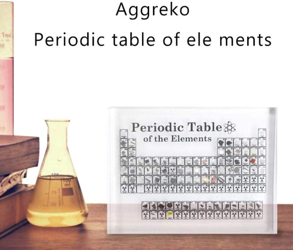 Goodtimera - Cuadro periódico de los elementos químicos, decoración del cuadro periodíaco de los elementos del cuadro de plexiglás