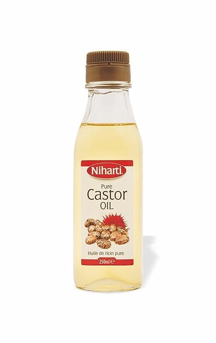 Niharti - Aceite de ricino puro - 250 ml