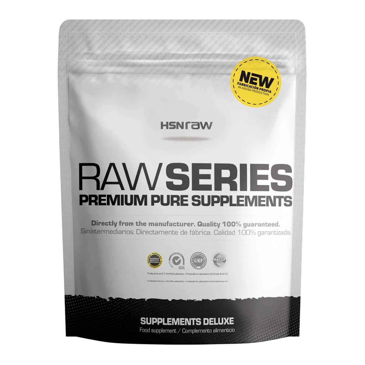 HSN Raw - Proteína Aislada de Suero Lácteo (100% Whey Protein Isolate) - En Polvo - Sabor Neutro - 500 gr: Amazon.es: Salud y cuidado personal