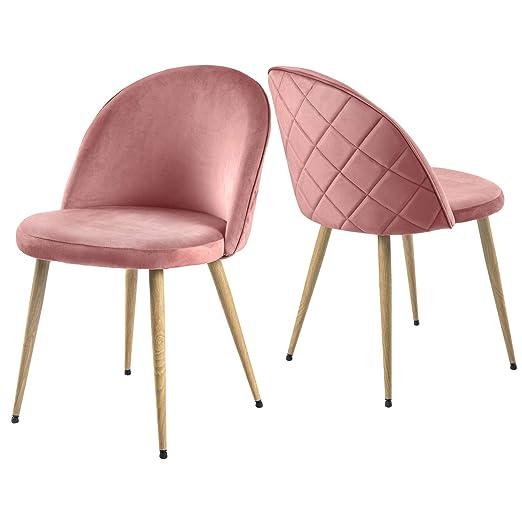 Modern Luxe 2er Set Esszimmerstuhl Wohnzimmerstuhl Lounge Sessel